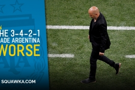 تیم ملی آرژانتین-جام جهانی 2018 روسیه-شکست آرژانتین