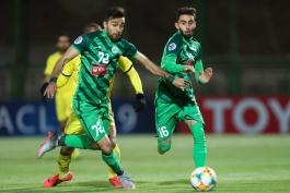 فوتبال ایران-لیگ قهرمانان آسیا-بازی ذوب آهن و الوصل
