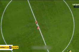 خلاصه بازی اتلتیکو مادرید 1-2 سویا