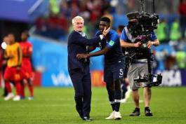 جام جهانی 2018 روسیه - بلژیک - فرانسه - کاریکاتور - بین اسپورت