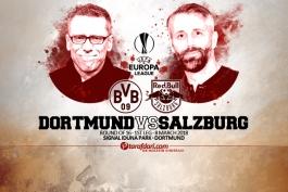 پیش بازی - لیگ اروپا - بروسیا دورتموند - ردبول سالزبورگ
