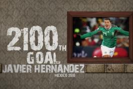 گل های رند جام جهانی - مکزیک - فرانسه - 2010