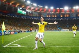 کلمبیا - اروگوئه - گل های کلاسیک جام جهانی - جام جهانی 2014