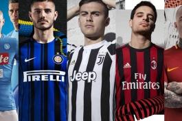نیم فصل اول سری آ 2017/18 - سری آ - لیگ ایتالیا - آیتم ویژه طرفداری