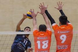 لیگ برتر والیبال؛ تقابل شهرداری ورامین و پیام مشهد در مهم ترین دیدار هفته پانزدهم - iran volleyball league