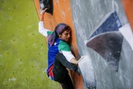 مشکلات الناز رکابی دختر عنکبوتی ایران برای حضور در میادین بین المللی