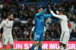 دروازه بان-بلژیک-اسپانیا-لالیگا-رئال مادرید-real Madrid