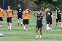 رئال مادرید-تمرینات پیش فصل رئال مادرید-مونترال کانادا-مدافع چپ لوس بلانکوس-لالیگا-La Liga-Real Madrid