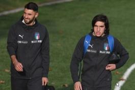 تیم ملی ایتالیا-آتزوری-لورنتزو اینسینیه-برایان کریستانته-Italy-Azzurri