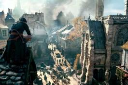بازی Assassin's Creed Unity - کلیسای نوتردام پاریس - بازسازی کلیسای نوتردام - یوبیسافت