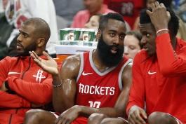 اخبار بسکتبال NBA - نقل و انتقالات بسکتبال NBA - کریس پال - جیمز هاردن - هیوستون راکتس