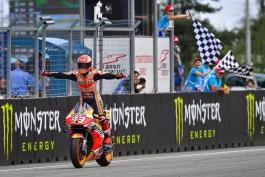 موتوجیپی – مسابقات موتورسواری – موتوجیپی جمهوری چک - پیست برنو - مسابقه MotoGP - رپسول هوندا - مارک مارکز