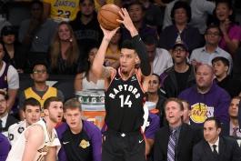 اخبار بسکتبال NBA - نقل و انتقالات بسکتبال NBA -تورنتو رپترز - دنی گرین - لس آنجلس لیکرز