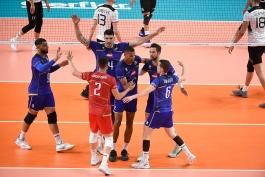 ورزش والیبال - اخبار والیبال - لیگ ملتهای والیبال - تیم ملی والیبال فرانسه