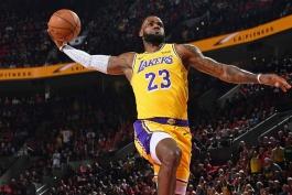 اخبار بسکتبال NBA - نقل و انتقالات بسکتبال NBA - لبران جیمز - آنتونی دیویس - لس آنجلس لیکرز