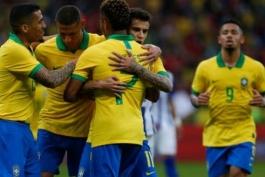 هندوراس-بازی دوستانه-گابریل ژسوس-پیروزی برزیل-کوپا آمریکا-Copa America
