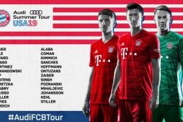 آلمان-بایرن مونیخ-پیش فصل بایرن مونیخ-آمریکا-Bayern Munich
