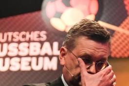 آلمان-فدراسیون فوتبال آلمان-استعفای گریندل-گریگوری سرکیس-Germany-DFB