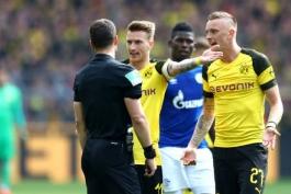 دورتموند-شالکه-آلمان-بوندس لیگا-محرومیت رویس-ماریوس وولف-شکست دورتموند-Dortmund