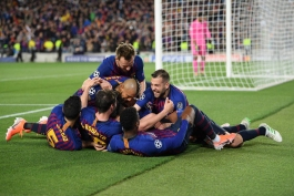 بارسلونا - لیگ قهرمانان اروپا - گلزنی مقابل لیورپول