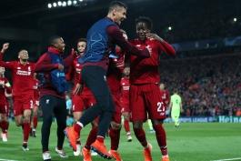 لیورپول - لیگ قهرمانان اروپا - گلزنی مقابل بارسلونا