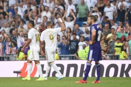 رئال مادرید - لالیگا - گلزنی مقابل وایادولید