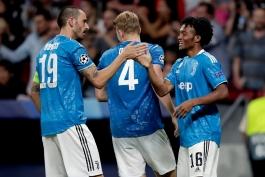 یوونتوس - لیگ قهرمانان اروپا - گلزنی مقابل اتلتیکو مادرید