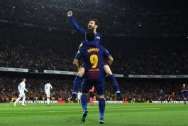 جدول بهترین گلزنان فصل 2017/18 لالیگای اسپانیا؛ لیونل مسی برنده جایزه پی چی چی شد