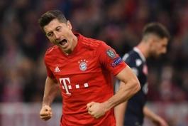 بایرن مونیخ - لیگ قهرمانان اروپا - گلزنی مقابل ستاره سرخ بلگراد