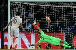 منچستریونایتد - لیگ قهرمانان اروپا - گلزنی مقابل پاری سن ژرمن