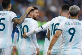 کوپا آمریکا 2019 - آرژانتین-شیلی - برزیل - اخراج مسی