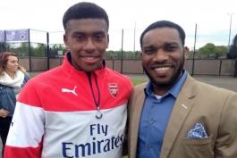 آرسنال انگلیس - نیجریه
