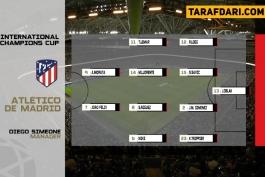 یوونتوس-اتلتیکو مادرید-بازی دوستانه-Atletico madrid-Juve