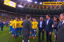 جشن قهرمانی برزیل-تیته-گابریل ژسوس-ریچارلیسون-copa america 2019