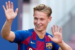 فرنکی دی یونگ-بارسلونا-لالیگا-Frenkie de Jong-Barcelona