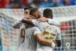رئال مادرید 3-2 لوانته؛ پیروزی خانگی سخت با رونمایی از ادن هازارد