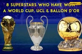 لیگ قهرمانان اروپا - جام جهانی - توپ طلا