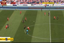 خلاصه بازی کرواسی 2-1 ولز (مقدماتی یورو 2020)