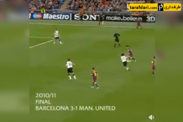 دیوید بکام-پل اسکولز-بارسلونا-منچستریونایتد-لیگ قهرمانان اروپا-david beckham-ucl-barcelona