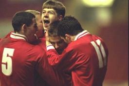 Steven Gerrard - Liveerpool Academy -- آکادمی باشگاه لیورپول