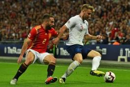 انگلیس - اسپانیا - ورزشگاه ومبلی - لیگ ملت های اروپا