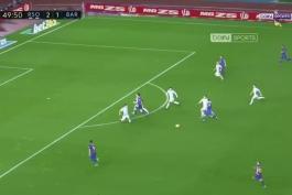 🔶خلاصه بازی بارسلونا 4 - 2 سوسیداد با گزارش عربی