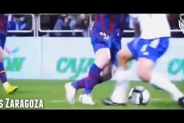 کلیپ؛ 10 گل انفرادی برتر لیونل مسی در طول دوران فوتبالش