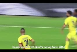 کلیپ؛ 20 بازیکن سریع دنیای فوتبال در پنج لیگ معتبر اروپایی