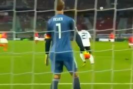 عکس العمل های مانوئل نویر در بازی مقابل اتریش