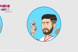 انیمیشن طنز سفر ایران به جام جهانی روسیه 2018