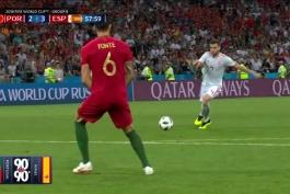 مجموعه هایلایت بازی های جام جهانی روسیه 2018؛ بازی چهارم؛ اسپانیا - پرتغال