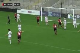 تیم بانوان منچستر manchester united women vs charlton athletic