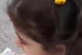 گریه های این دختر بچه رو ببینید، چطوری میتونن اشک این طفل معصوم رو در بیارن