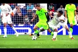 چند دقیقه با مهارت های دفاعی کارلوس کاسمیرو,تانک برزیلی رئال مادرید(2016/17)